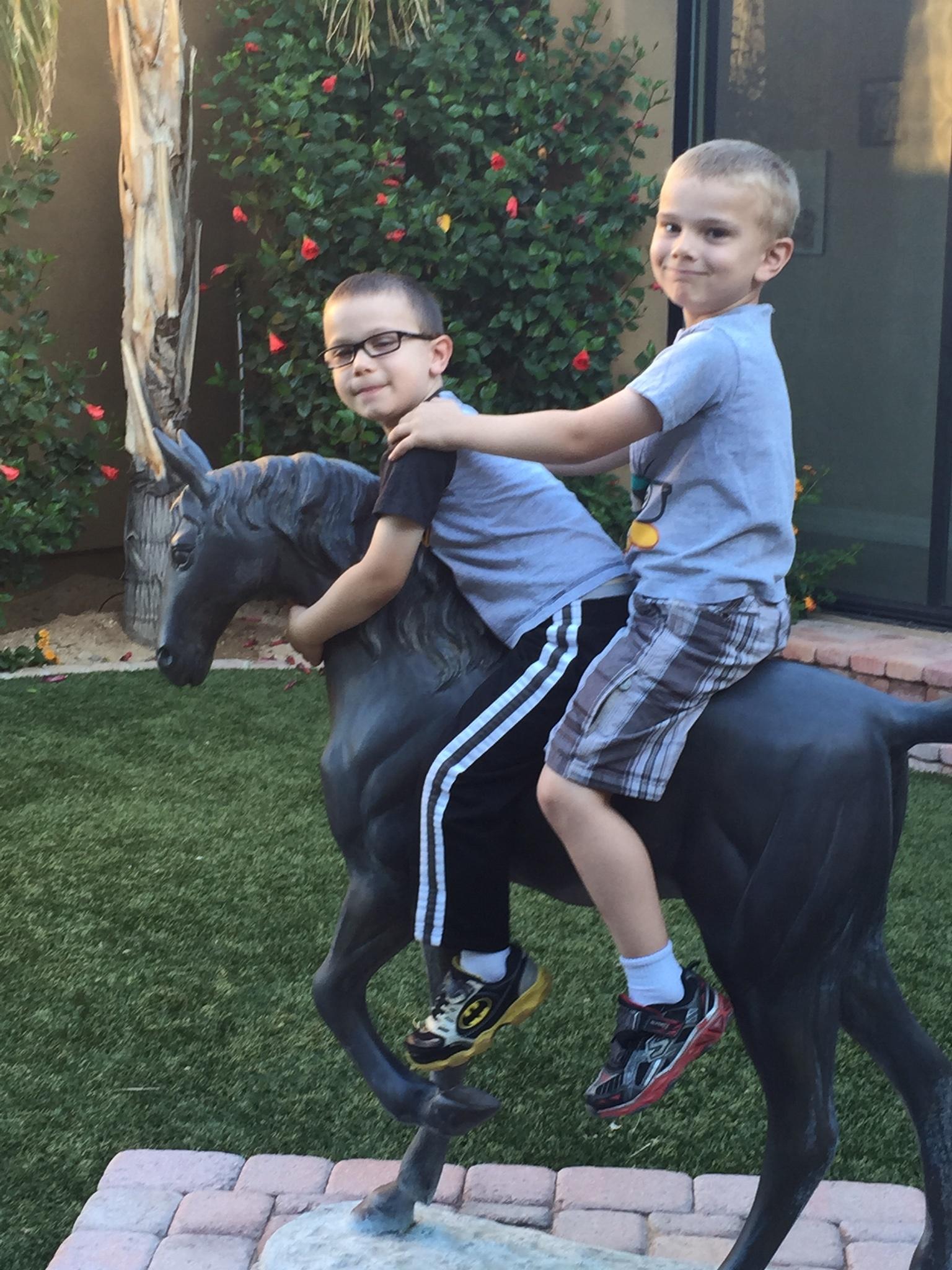 Blake & Garrett Horse