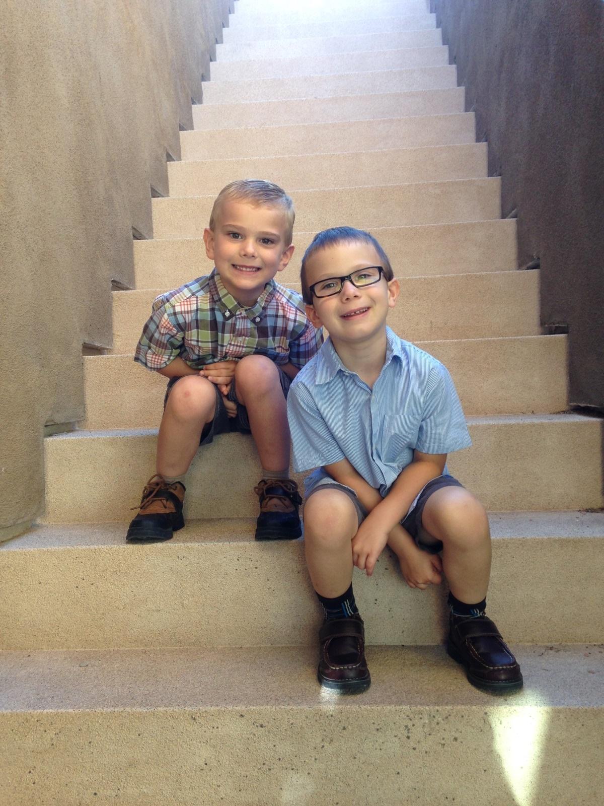 Blake & Garrett Stairs