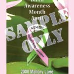 50 Multiple Birth Awareness Bookmarks