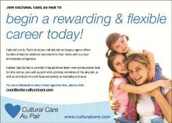 Cultural Care Au Pair - a flexible, affordable childcare solution!